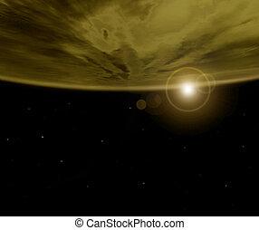 Extracto, planeta,