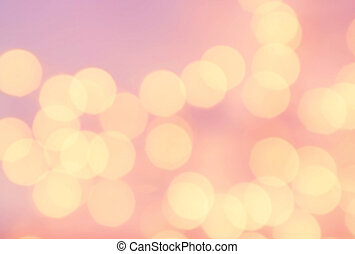 Bokeh light Vintage background Bright pink color Abstract...