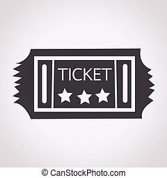 Vintage Ticket Icon