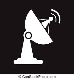 EPS Vector of Satellite Dish icon csp15442541 - Search Clip Art ...