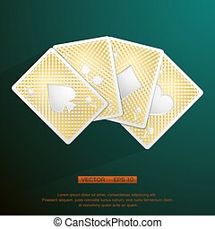Poker golden cards