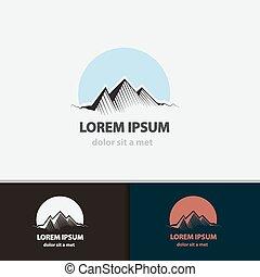 Tourism travel logo design.