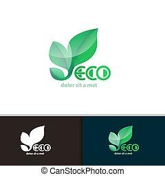 Vector creative environmental icon