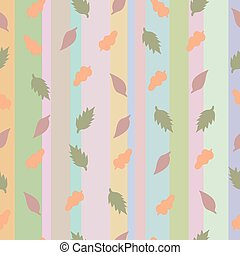 Strip pattern, pastel colors. Vecto - Abstract vector with...