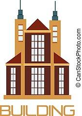 Vector building logo