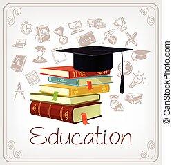 Vector education illustration