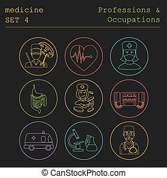 Professions outline. Medical - Professions and occupations...