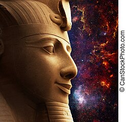 Ramses II and Galactic Center Region (Elements of this image...