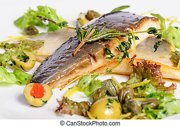 fritado, peixe, filete,