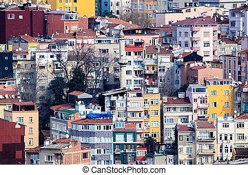 Densely populated houses - Photo of densely populated houses...