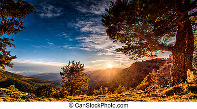 Nature in Andorra - Wonderful nature in Mountains of Andorra