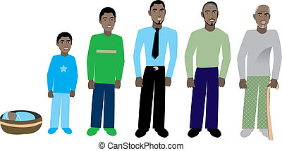 male age progress 1 - Male age progression, available for...