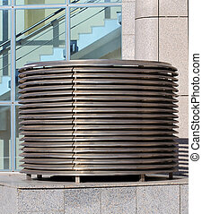 Ventilation equipment - Ventilation facility of the modern...