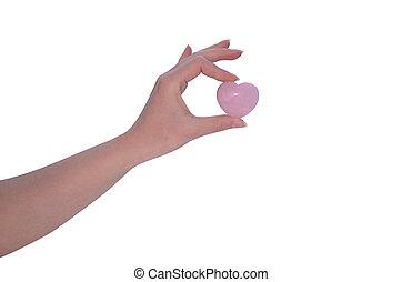 Carnelian - Hand