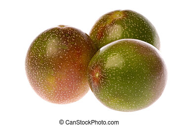 Passion Fruits Isolated - Isolated image of Passion Fruits