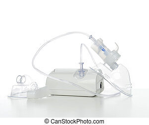 Nebulizer for respiratory inhaler asthma treatment on a...
