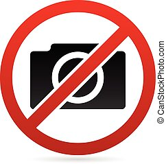 No photography symbol 