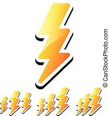 Thunderbolt, Lightening Icons Thunderbolt, Lightening Icons...