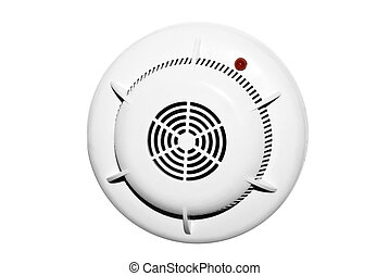 fire alarm sensors on a white background