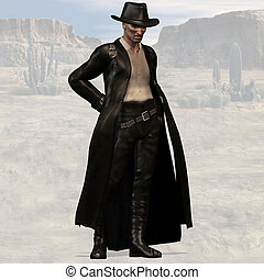 Bad Guy #01 - Wild West Series with Cowboys, Indians, Good...