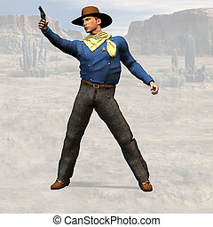 Sheriff #01 - Wild West Series with Cowboys, Indians, Good...