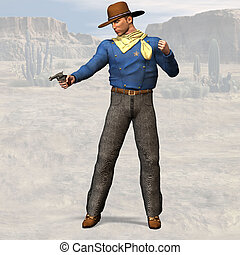 Sheriff #02 - Wild West Series with Cowboys, Indians, Good...