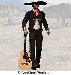 Mexican #01 - Wild West Series with Cowboys, Indians, Good...
