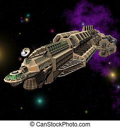 vaisseau spatial, #02