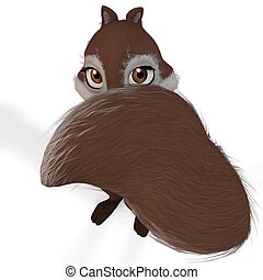 Toon Squirrel #08