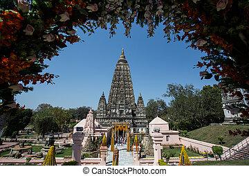 Mahabodhi temple, bodh gaya, India - Mahabodhi temple, bodh...