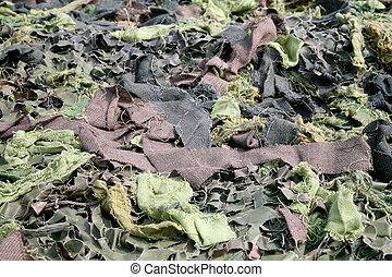 army textile camouflage - background of army textile...