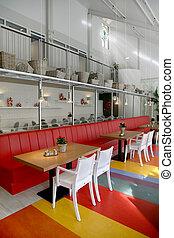 restaurant in elderly house