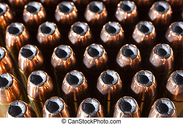 Hollow points - Hollow point bullets on loads designed for a...