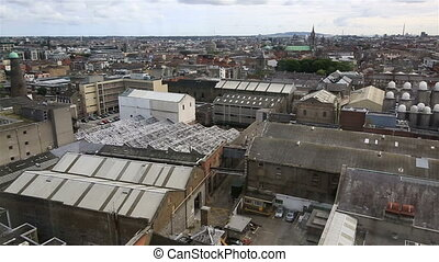 Plant from the observation deck of Guinness Storehouse in...