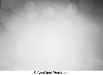 Defocused black and white abstract background White and grey...