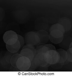 Abstract Black Bokeh background Elegant Vintage texture with...
