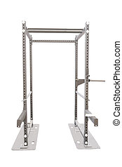 Gym apparatus isolated on a white background