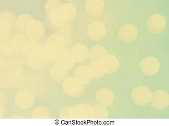 Defocused twinkling lights Christmas Bokeh background....