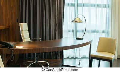 Luxury meeting room in hotel - Luxury business room....