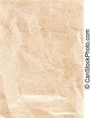 Textured recycled vintage light beige natural paper background.