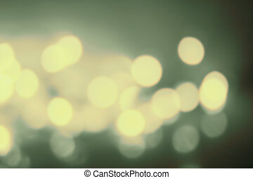 Abstract twinkling bokeh Background of defocussed golden...