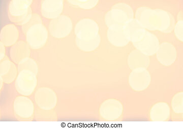 Abstract twinkled bright background with bokeh defocused...