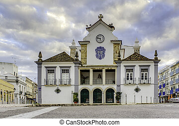 Church of Nossa Senhora do Rosário, constructed in the...