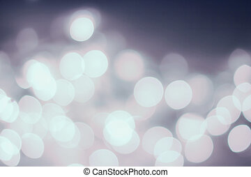 Nights Abstract defocused lights bokeh background with blur  lig