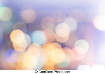 Festive background with natural bokeh and bright golden...