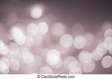 Night Abstract defocused lights bokeh background with blur light
