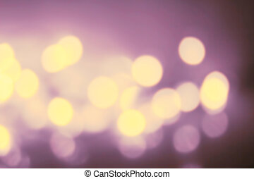 Abstract twinkling bokeh Background of defocussed golden...