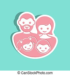 Vector family label