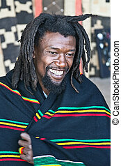 Rasta man - rasta man with dreadlocks, people diversity...