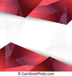 Vector background abstract polygon triangles design...